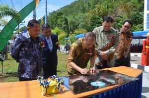 Menristek-Dikti RI Muhammad Nasir resmikan Politeknik Nusa Utara
