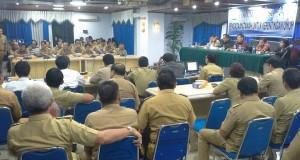 Forum diskusi pengadaan tanah untuk kepentingan umum Pemkot Manado.