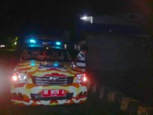 Mobil patroli prokamling dapat berfungsi saat darurat bencana