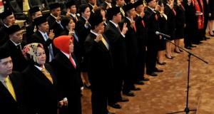 Anngota DPRD Sulut saat dilantik