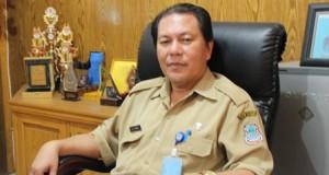Kepala Dinas Kesehatan Kota Manado, Robby Mottoh.