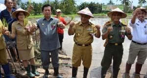 Program menanam padi menjadi prioritas pertanian untuk perbaikan pangan Sulut