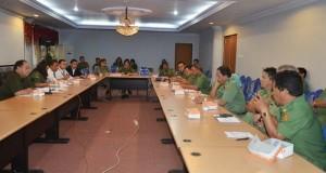 Rapat pembahasan penggunaan bahan bakar elpiji di pemprov Sulut.