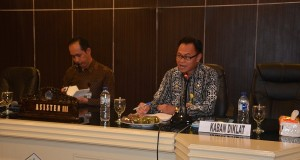 Pelaksanaan diskusi antara BKD Provinsi Sulut dan KPK RI