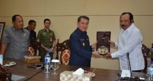 Watimpres Cari Informasi Pertahanan Kemanan di Sulut.