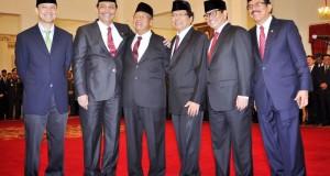 Menteri Baru Usai Dilantik Presiden Jokowi (foto: Istimewa)