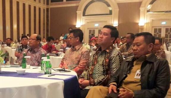 Wagub Sulut Drs Steven Kandouw saat menghadiri acara Rapat Koordinasi bersama Kemendiknas RI.