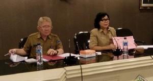 Sosialisasi Pergub nomor 46 tahun 2017 oleh Kadis Sosial Prov Sulut dr L Grace Punuh MKes