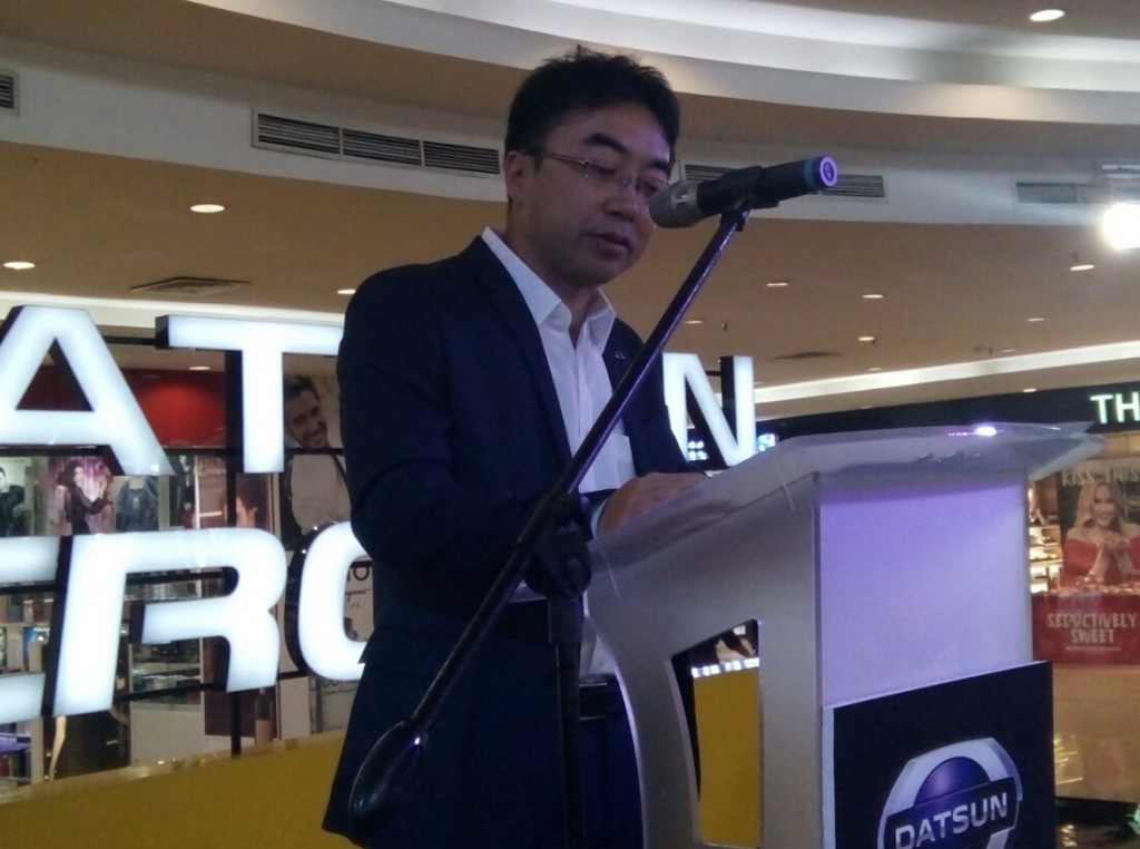 Mr Masato Nakamura, Head of Datsun Indonesia