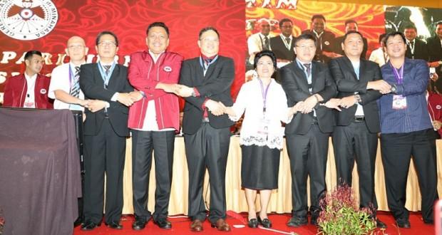 Kebersamaan dan soliditas para pelayan yang terpilih di Sidang Majelis Sinode GMIM ke 79