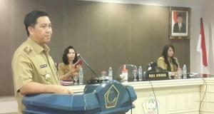 Wagub Drs Steven OE Kandouw saat