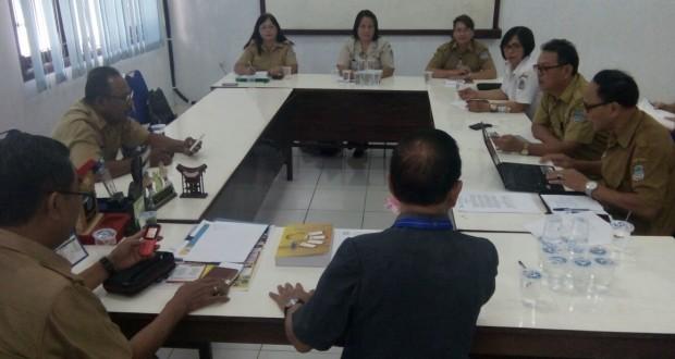 Rapat internal pemegang mandat pembentukan kepengurusan AKSI di Provinsi Sulawesi Utara, Selasa (14