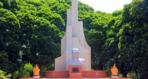 Makam Pahlawan Nasional Dr GSSJ Ratulangi di Tondano, Minahasa