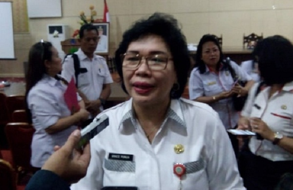 Dr Grace Punuh, Kadis Dikda Sulut