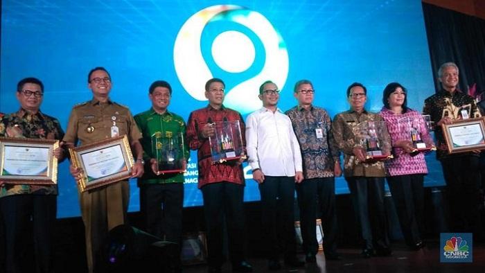 Para Gubernur Pemenang INTEGRA 2018 dari Kementerian Ketenagakerjaan RI
