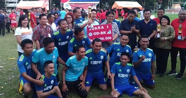 Tim PNS Futsal Pemkot Bitung
