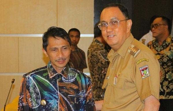 Bupati ROR bersama Bupati Gorontalo