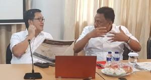 Gubernur Olly Dondokambey SE dan Wagub Drs Steven OE Kandouw