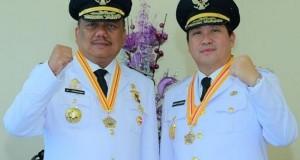 Gubernur Olly Dondokambey SE dan Wakil Gubernur Drs Steven OE Kandouw (ODSK)