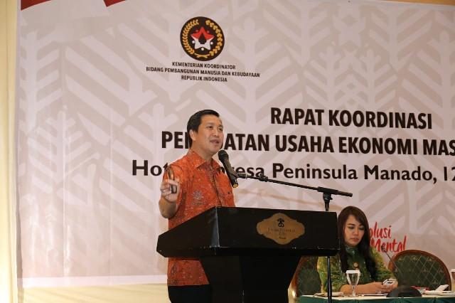 DRS STEVEN OE KANDOUW, Wakil Gubernur Sulawesi Utara