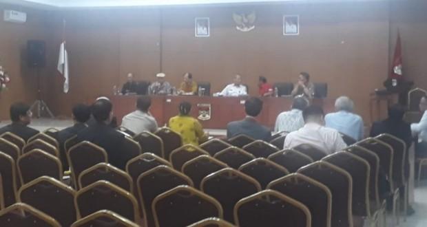 Tim ISNDC saat melakukan pertemuan dengan Pemerintah Kabupaten Minahasa, Rabu (22/05/2019)