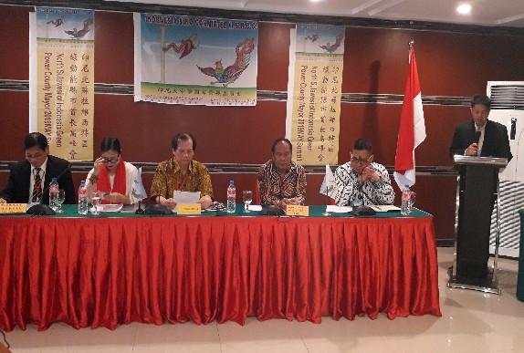 Pertemuan ISNDC dengan perwakilan Pemerintah Kabupaten dan Kota di Sulut, Senin (20/05/2019)