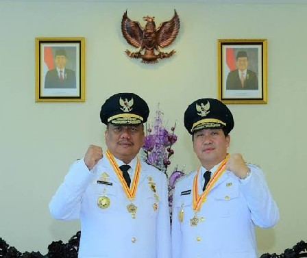 ODSK (Gubernur Olly Dondokambey SE dan Wakil Gubernur Steven OE Kandouw)