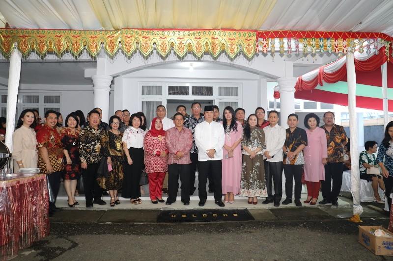 Bersilaturahmi dengan Wakil Walikota Nayodo Koerniawan
