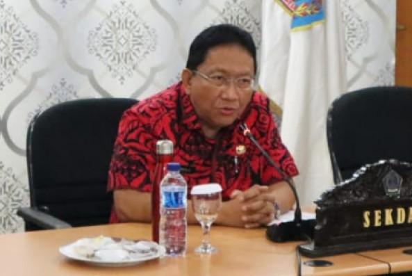 EDWIN SILANGEN SE MS, Sekertaris Daerah Provinsi Sulawesi Utara