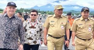 Dubes AS, Gubernur Sulut dan Wakil Gubernur Sulut