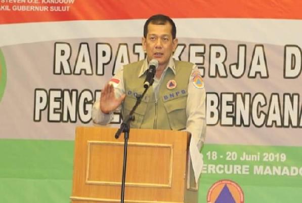 LETJEND TNI DONI MONARDO, Kepala BNPB RI