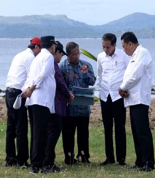 Menko Perekonomian RI Darmin Nasution ikut memberikan dukungan terhadap rencana pengembangan KEK Pariwisata Tanjung Pulisan Likupang