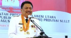 OLLY DONDOKAMBEY SE, Gubernur Sulawesi Utara