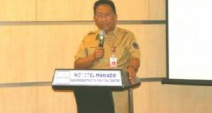 EDWIN SILANGEN SE MS, Sekretaris Daerah Provinsi Sulut