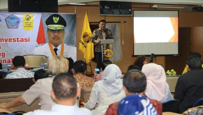 Gubernur Olly Dondokambey SE membeberkan posisi Sulawesi Utara yang memiliki peluang untuk turut serta bersama negara-negara Pasifik dalm memainkan percaturan ekonomi global