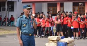 06-09-2019 FOTO AJAK PEMUDA PEMUDI JADI PRAJURIT TNI AL LANTAMAL VIII GELAR SOSIALISAI DI WILYAH MINSEL DAN MINUT (1)