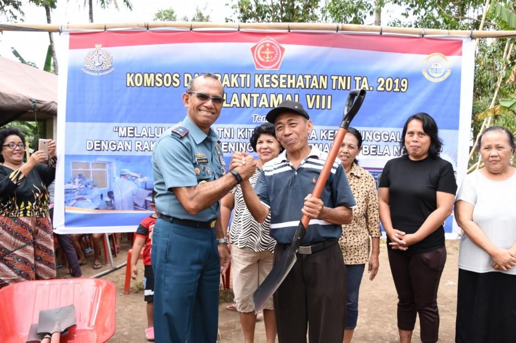 06-09-2019 FOTO LANTAMAL VIII GELAR KOMSOS DAN BHAKTI KESEHATAN (3)