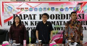 DPRD Sulut dilaksanakan Rapat Koordinasi (Rakor) Badan Kehormatan (BK) DPRD se-Provinsi Sulut