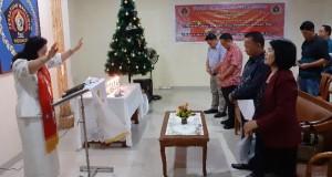Ibadah Perayaan Natal Yesus Kristus Keluarga Besar PWI Sulut dan IKWI Sulut, Jumat (27/12/2019) malam