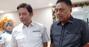 KAR Powership Regional Asia Pasifik Mehmet Ufuk Berk bersama Gubernur Provinsi Sulawesi Utara Olly Dondokambey SE, Sabtu (28/12/2019)