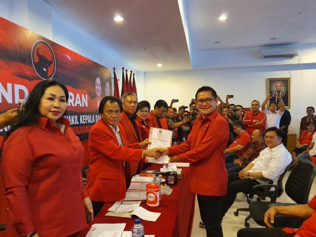 Joune Ganda SE, Bakal Calon Bupati MINUT yang dijaring PDI Perjuangan Sulut