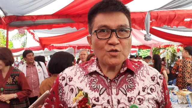 Direktur Utama RSUP Prof Dr RD Kandou Manado Dr dr Jimmy Panelewen Sp.B-KBD,