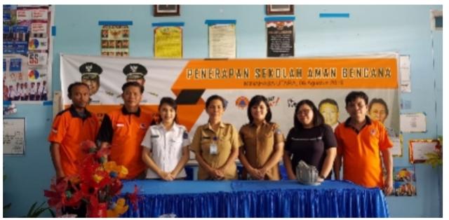 Sosialisasi penanganan bencana di sejumlah sekolah di Sulut