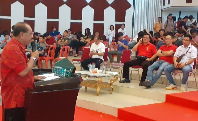 Mewakili Gubernur Sulut, Asisten I Drs Edison Humiang MSi membuka secara resmi, Jumat (14/02/2020)