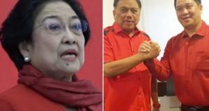 Ketua Umum DPP PDI Perjuangan Megawati Soekarnoputri dan pasangan Olly Dondokambey SE dan Drs Steven OE Kandouw sebagai Calon Gubernur dan Wakil Gubernur Sulut untuk Pilkada Serentak 2020