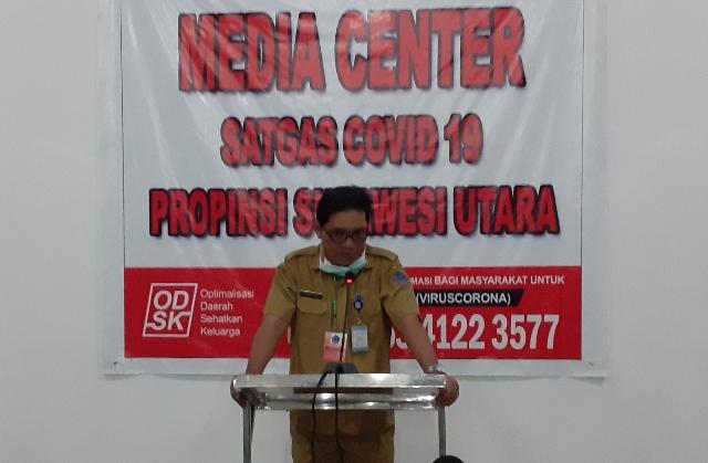 Jubir Covid-19 Provinsi Sulut dr Steaven Dandel MPH