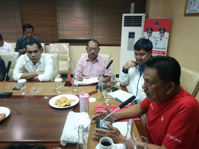 Gubernur Olly Dondokambey SE memaparkan langkah yang segera dilakukan oleh Pemprov Sulut menghadapi wabah Virus Corona
