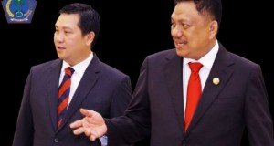 Gubernur Olly Dondokambey SE dan Wakil Gubernur Sulut Drs Steven OE Kandouw