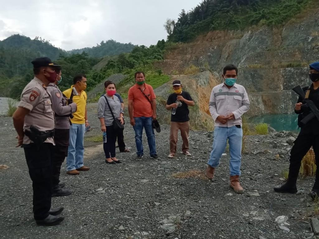 Survei lapangan Batas Wilayah sesuai IUP PT SEJ
