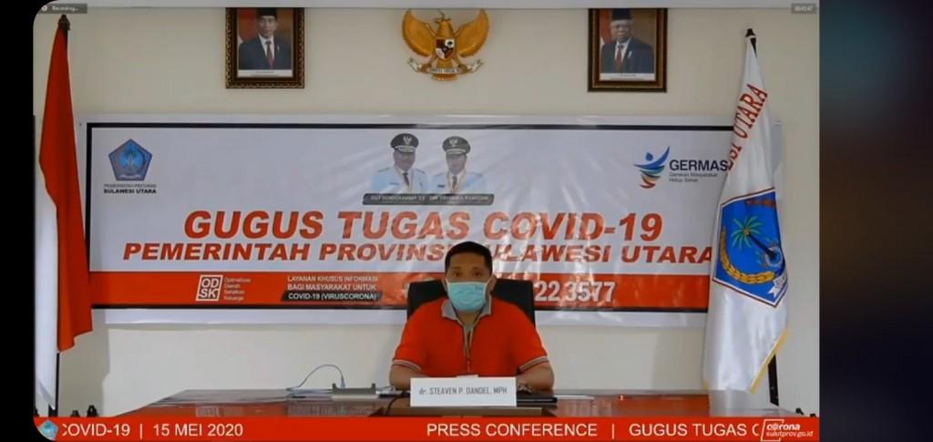 Juru Bicara Gugus Tugas Covid-19 Provinsi, dr Steaven Dandel MPH